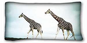 Custom Animal Custom Zippered Pillow Case 20x36 inches(one sides) from Surprise you suitable for King-bed