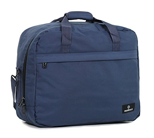 Members 55 Bag Shoulder Essential Purple 20 Ryanair 40 x x Board Holdall On Blue Travel Navy cm Compliant rrwzAq