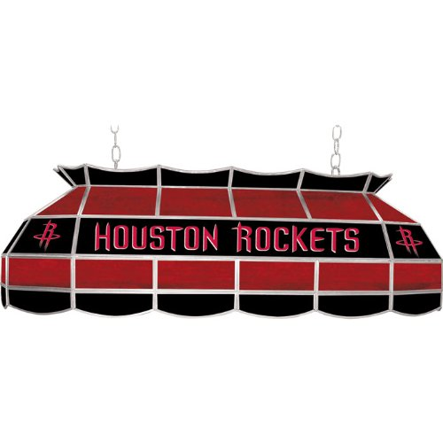 NBA Houston Rockets Tiffany Gameroom Lamp, 40'' by Trademark Gameroom