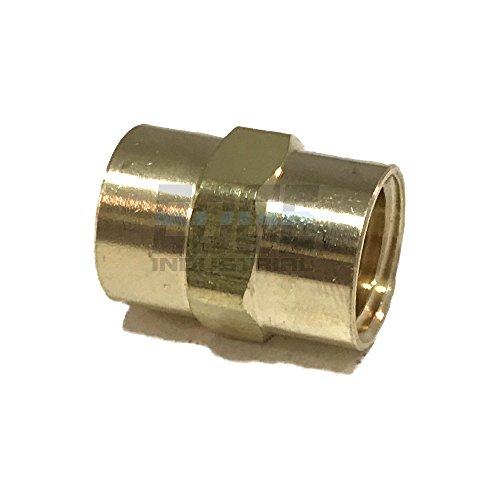 EDGE INDUSTRIAL Brass Coupling 1/4