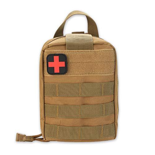 EHBO-tas, Outdoor Survival Militaire EHBO-tas, Climbing Emergency Medical Pouch, Geschikt voor Tactic Backpack, Tactic…