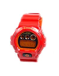 Casio Men's G-Shock DW6900CB-4 Red Polyurethane Quartz Watch with Digital Dial