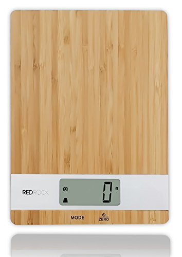 Bamboo Digital Kitchen Food Scale 2014 New Product 11lb Capacity Eco-friendly Platform