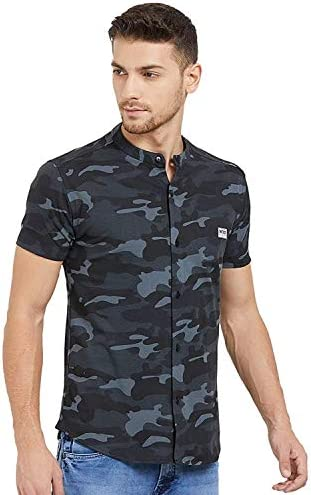 Wear Your Opinion Men's Slim Fit Casual Shirt