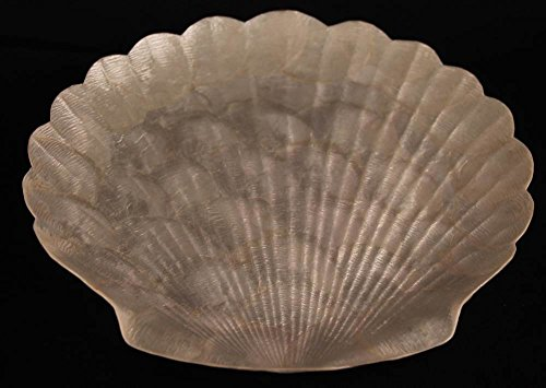 Large Clam Capiz Shell Tray (Capiz Shell Plate)