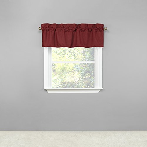 Renaissance Home Fashion Emmett Lined Straight Valance, for sale  Delivered anywhere in USA
