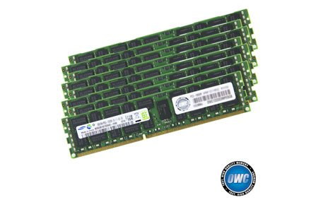 OWC 64.0GB (8 x 8GB) PC8500 DDR3 ECC 1066 MHz 240 pin DIMM Memory Upgrade Kit 2009 Mac Pro Xserve