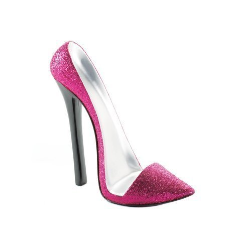 - Zings & Thingz 57072876 Pink HIGH Heel Phone Holder,
