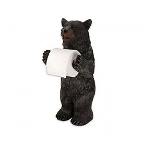 Rivers Edge Products Standing Bear Toilet Paper Holder; New; Free Shipping