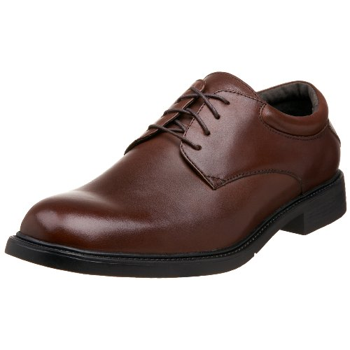 Nunn Bush Lace Oxfords - Nunn Bush Men's Maury Plain Toe Oxford,Brown,13 W
