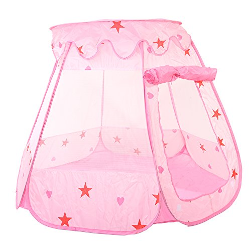 Chendongdong Children Princess Play Tent Toddler Sensory Ball Pit Play House Anti-mosquito Tents Outdoors 120 x 90 x 70CM (not include balls) by chendongdong