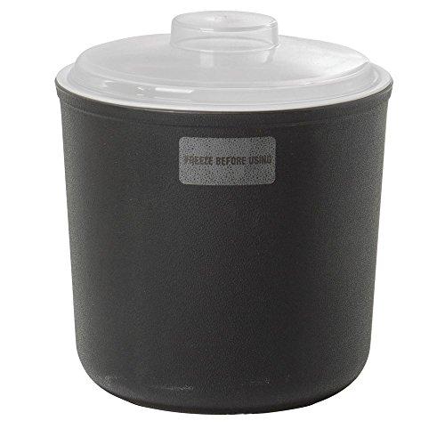 Carlisle Coldmaster 2 qt Black Polypropylene Coldcrock - Food Carlisle Pan Coldmaster