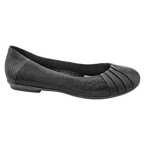 Women's Flat Black Bellwether Suede Print Earth dqp4Ed