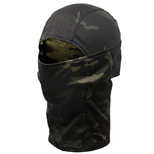 EBRICKON Camouflage Balaclava Hood Ninja Outdoor Cycling Mot