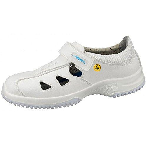 Abeba 31795-40 Uni6 Chaussures de sécurité sandale ESD Taille 40 Blanc
