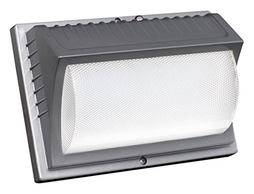Honeywell ME014051-82 LED Security Wall Light, 4000 Lumens, Titanium Gray