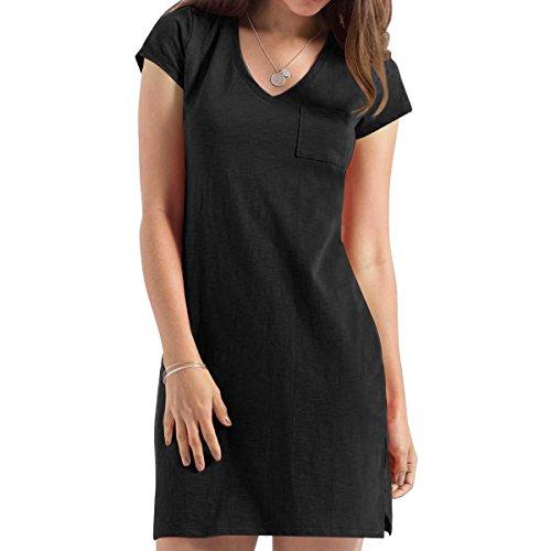 V-Neck Dress - 3