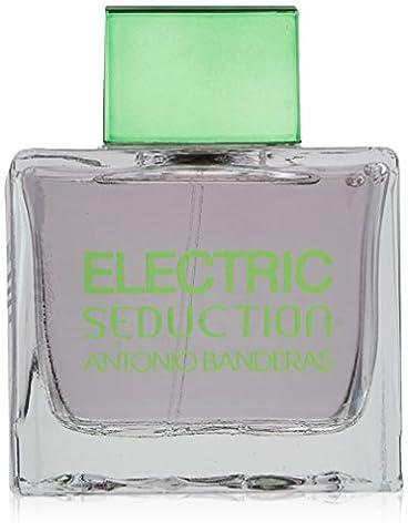 Antonio Banderas Electric Seduction In Black Eau De Toilettes Spray for Men, 3.4 Ounce - Antonio Banderas Fragrances