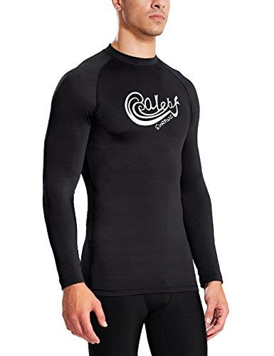 Free Shipping Baleaf Mens Long Sleeve Surf Shirt Rashguard