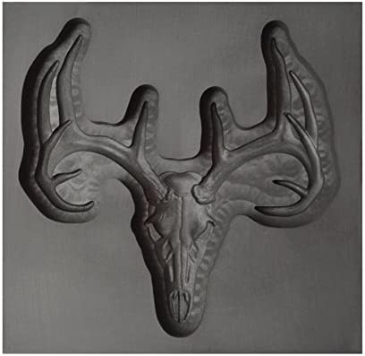 Large - Deer Skull 3D Graphite Ingot Mold for Precious Metal Casting Gold Silver Copper Melting