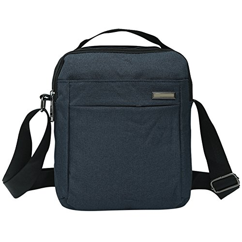 Bag Widewing Travel Business Crossbody Blue Synthetic Cool Shoulder Linen Men's pwqIOxZw
