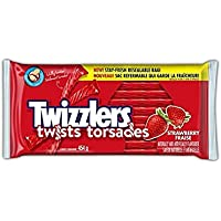 TWIZZLERS Licorice Candy, Strawberry Twists, Party Pack, 454 Gram
