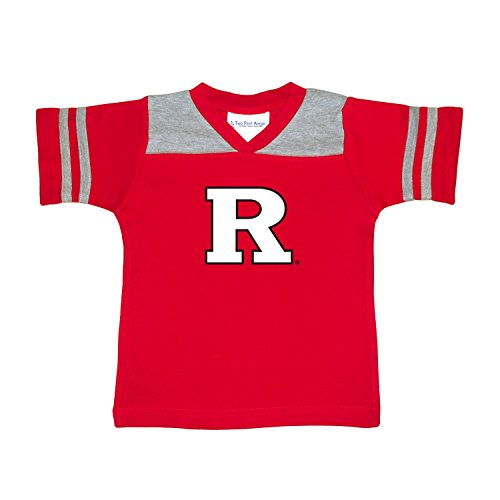 NCAA Rutgers Scarlet Knights Toddler Boys Football Shirt, Red, 3