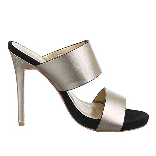 Ital-Design , Sandales pour femme dor 38
