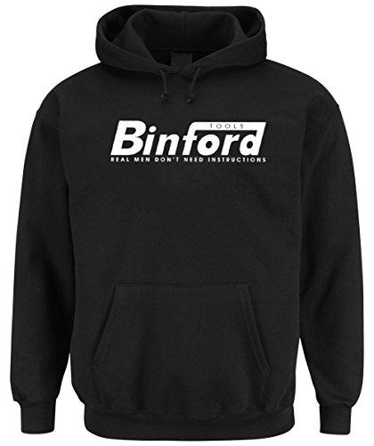 Binford Hooded-Sweater Black Certified Freak