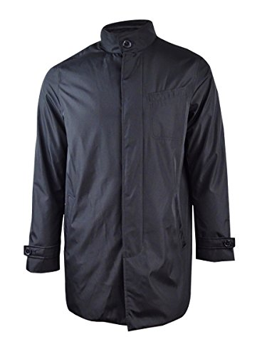 - Michael Kors Men's Tech Layered Car Coat (XXL, Black)