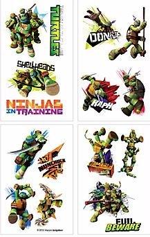 Amazon.com: Teenage Mutant Ninja Turtles Tattoos - Set of 16 ...