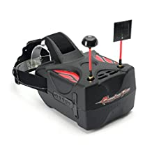 Tomlov Eachine FPV Goggles Two 5.8G 40CH Raceband HD 1080p HDMI 5inch Video Glasses for Racing Drone RC Quadcopter