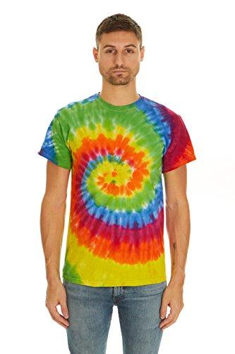 Krazy Tees Tie Dye T-Shirt, Moondance, 2XL]()