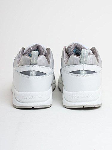 E 2 0 Sneaker Multicolour Fusion Man's Tessuto Karhu in Pelle Bianca q6RHgnf8
