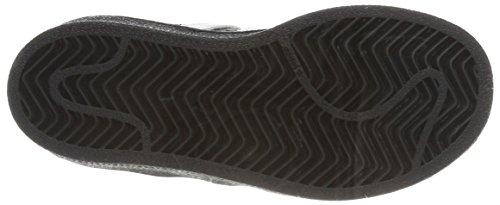 adidas Superstar C, Zapatillas de Deporte Para Niños Negro (Negbas/Ftwbla/Negbas)
