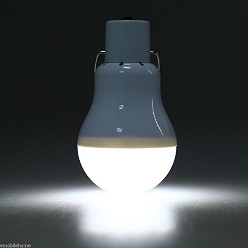 Cathery S-1200 15W 130LM Portable Led Bulb Light Charged Solar Energy Lamp