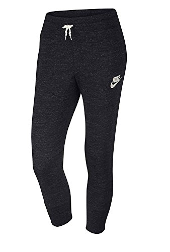 Nike Youth Girls Gym's Vintage Capri Pant Black 811575 010 (xl) (Girls Nike Sweatpants)