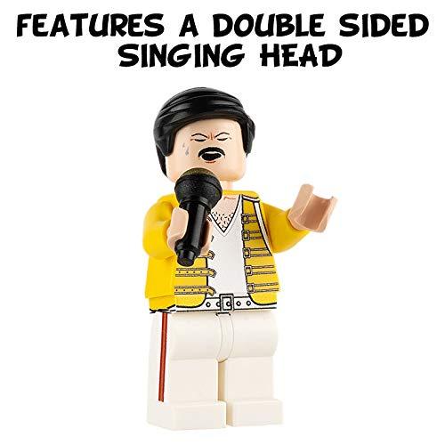 Custom Design Minifigure Freddie Mercury minifigures.com MF046