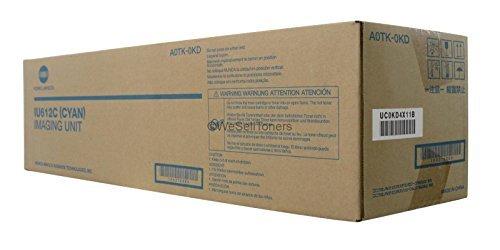 Minolta Cyan Imaging Drum (Genuine Konica Minolta IU612C Bizhub C652 C552 C452 Cyan Imaging Unit A0TK0KD)