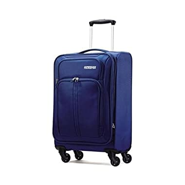 American Tourister Splash LTE Spinner 20 Carry On Luggage, Blue