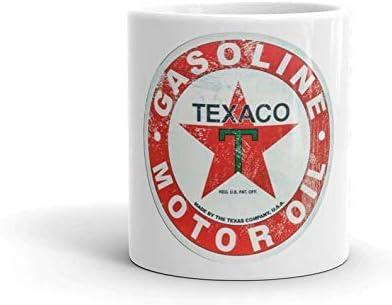 Amazon.com | Texaco Motor Oil Coffee Cup - Coffee Mug - Coco Mug - Tea Cup Fathers Day Coffee Mug 11oz: Coffee Cups & Mugs