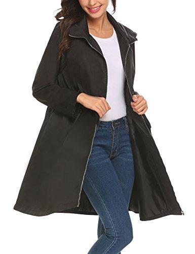 fall jacket with hood - 3