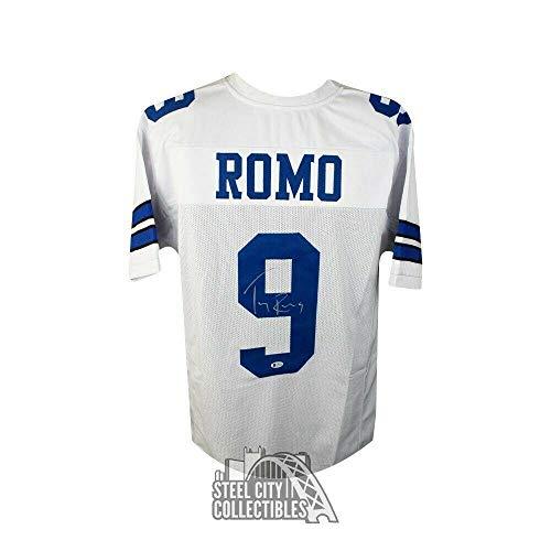 Tony Romo Autographed Jersey - Custom BAS COA - Beckett Authentication - Autographed NFL Jerseys