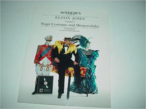 Amazon.com: Elton John Volume 1 Stage Costume and ...