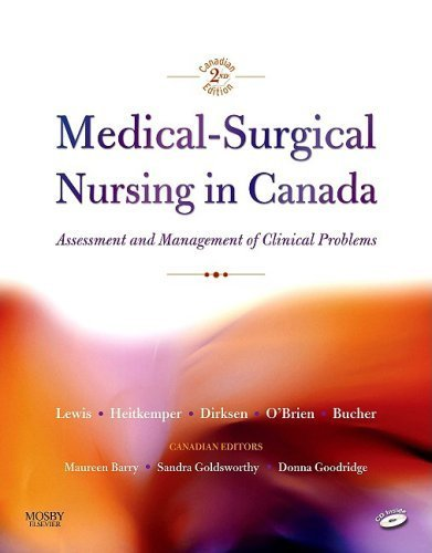 Medical-Surgical Nursing in Canada: Assessment and Mangement of Clinical Problems by Sharon Mantik Lewis (2009-07-31)