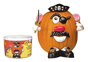 kids mr potato head pirate push ins halloween costume