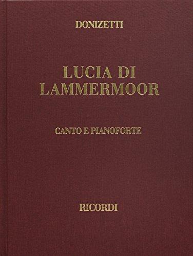 LUCIA DI LAMMERMOOR VOCAL SCORE CLOTH by Ricordi