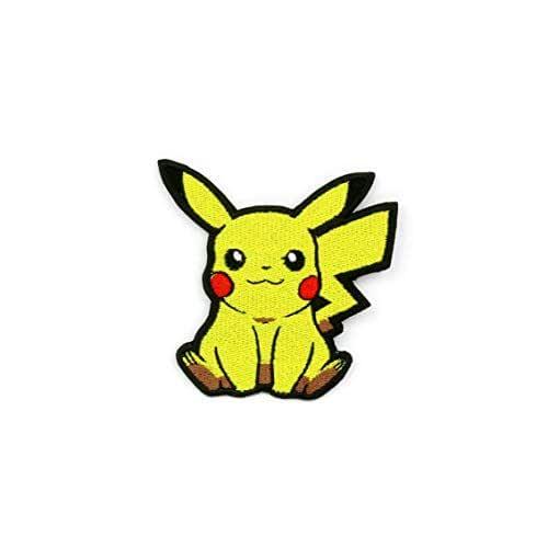 Pikachu, Parche Bordado para Planchar o Coser