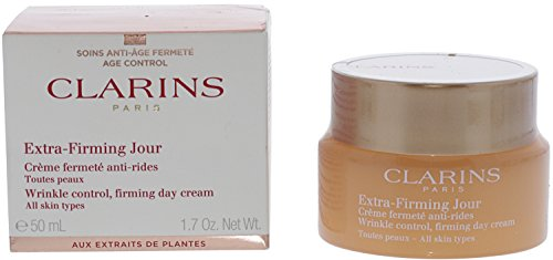 Clarins Extra Firming Day Wrinkle Lifting Cream for All Skin Type, 1.7 Ounce -