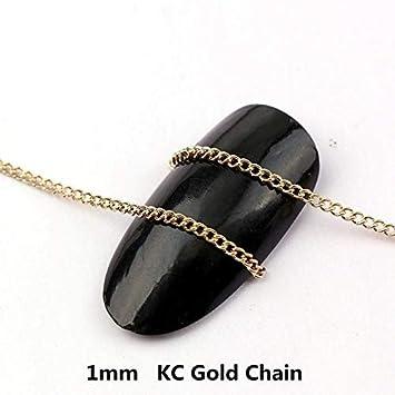 fabdf5c47bae3 Amazon.com: Kamas 0.8~1 Meter Width 1/2/3mm Japanese 3D Gold/KC Gold ...